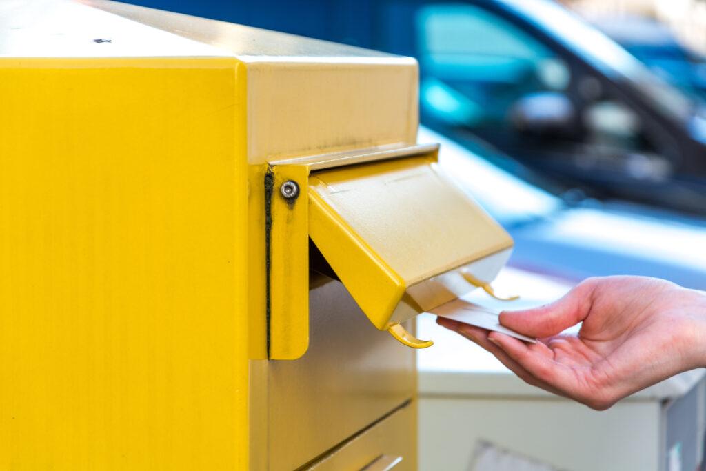 Zakelijke post Duitsland