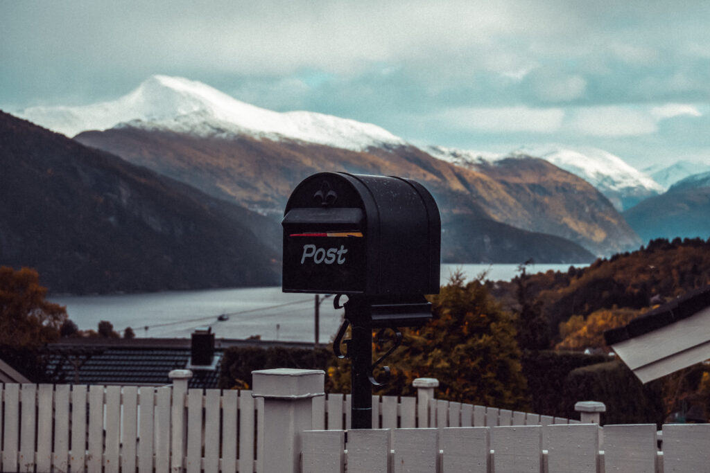 Zakelijke post scandinavië